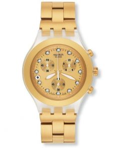 SWATCH FullBlooded - SVCK4032G Gold case