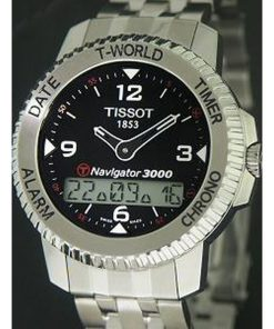 Tissot Men's T96148852 T-Touch Navigator 3000 Watch