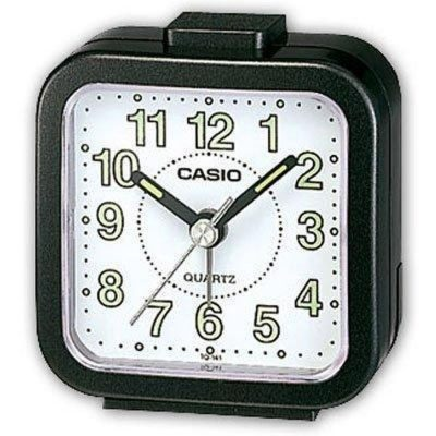 CASIO Wake Up Timer Black Resin Case TQ-141-1EF