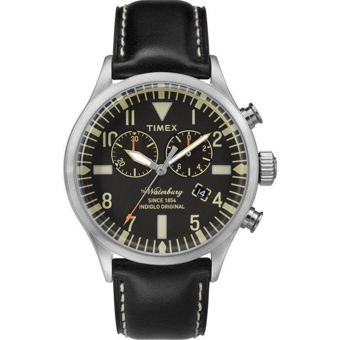 Timex Black Leather Strap TW2P64900
