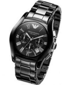 Emporio Armani  Black Ceramic Gents Chronograph watch  AR1400