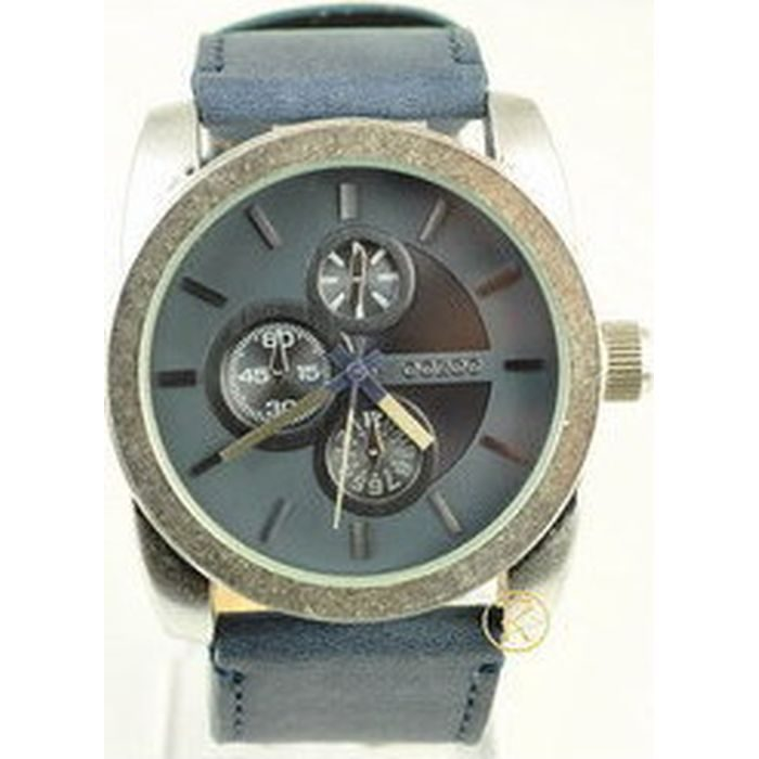 Oozoo Τimepieces Blue Leather Strap C4777