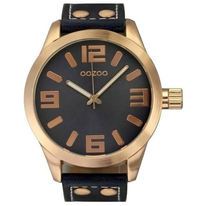 oozoo-xl-timepieces-unisex-gold-plated-case-leather-strap-C6029 8a163958ebb