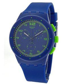 Swatch Chrono Plastic Blue C SUSN400
