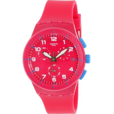 Swatch Chrono Plastic Pink Frame SUSR401