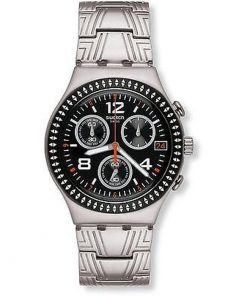 SWATCH Offset Stainless Steel Chronograph YCS576G