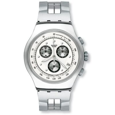 SWATCH Wealthy Star - YOS401G Silver case
