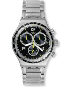 SWATCH Sprinkled Water Stainless Steel Chronograph YVS411G