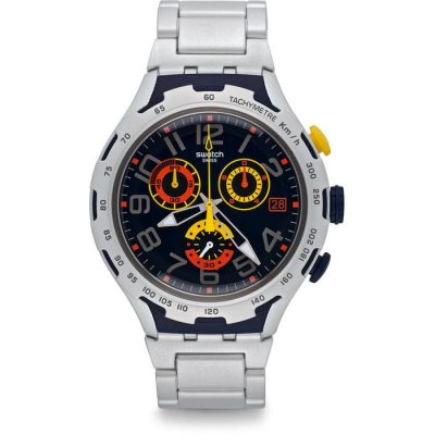 SWATCH Darkony Chrono - YYS4006AG Silver case